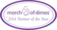 healthONE March of Dimes 2014 Partner of the Year